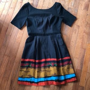 Plenty Tracy Reese Anthro dress sz 6 EUC Black